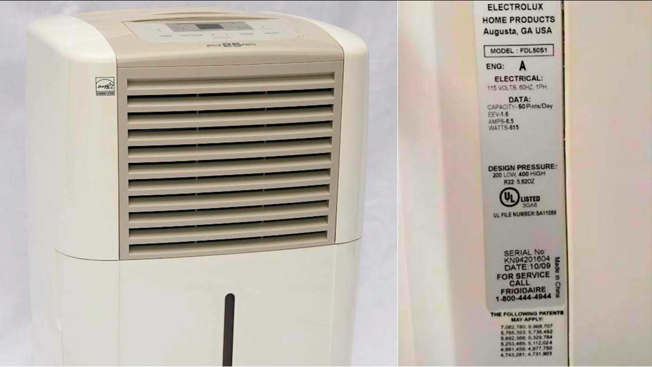 3 4 million dehumidifiers recalled over overheating, fire