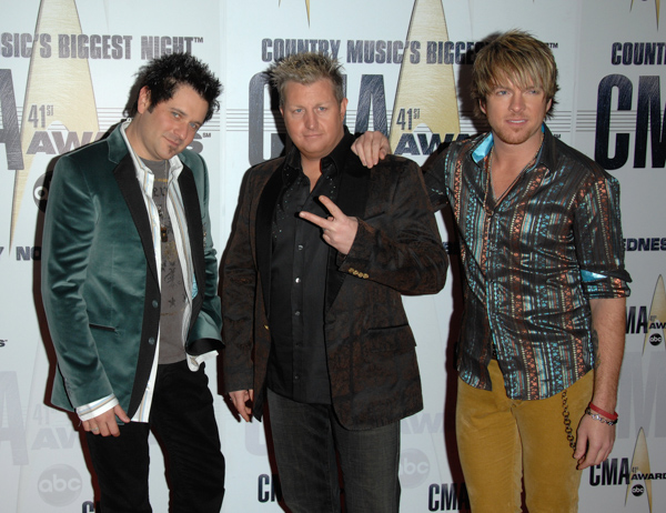 "<div class=""meta image-caption""><div class=""origin-logo origin-image none""><span>none</span></div><span class=""caption-text"">Music group Rascal Flatts arrive at the 41st Annual Country Music Association Awards, Wednesday, Nov. 7, 2007, in Nashville, Tenn. (Peter Kramer/AP Photo)</span></div>"