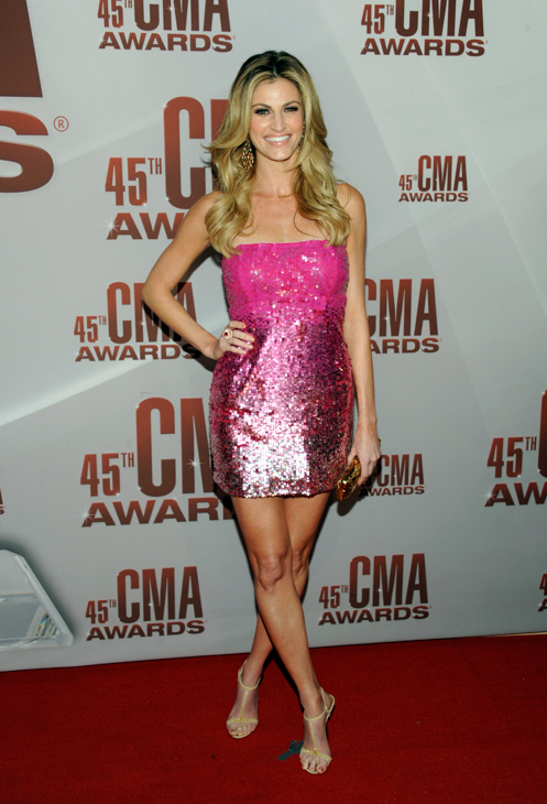 "<div class=""meta image-caption""><div class=""origin-logo origin-image none""><span>none</span></div><span class=""caption-text"">Erin Andrews arrives at the 45th Annual CMA Awards in Nashville on Wednesday, Nov. 9, 2011. (Evan Agostini/AP)</span></div>"