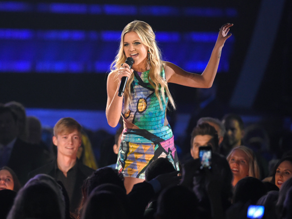 "<div class=""meta image-caption""><div class=""origin-logo origin-image none""><span>none</span></div><span class=""caption-text"">Kelsea Ballerini performs at the 49th annual CMA Awards at the Bridgestone Arena on Wednesday, Nov. 4, 2015, in Nashville, Tenn. (Chris Pizzello/Invision/AP)</span></div>"