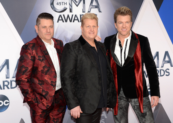 "<div class=""meta image-caption""><div class=""origin-logo origin-image none""><span>none</span></div><span class=""caption-text"">Rascal Flatts arrive at the 49th annual CMA Awards at the Bridgestone Arena on Wednesday, Nov. 4, 2015, in Nashville, Tenn. (Evan Agostini/Invision/AP)</span></div>"