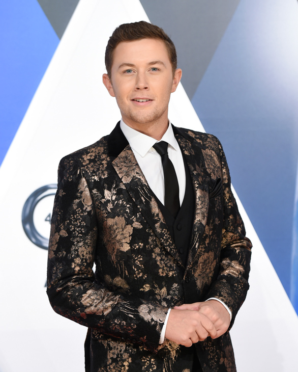 "<div class=""meta image-caption""><div class=""origin-logo origin-image none""><span>none</span></div><span class=""caption-text"">Scotty McCreery arrives at the 49th annual CMA Awards at the Bridgestone Arena on Wednesday, Nov. 4, 2015, in Nashville, Tenn. (Evan Agostini/Invision/AP)</span></div>"