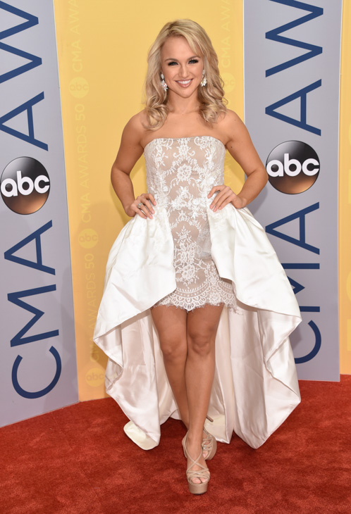 "<div class=""meta image-caption""><div class=""origin-logo origin-image none""><span>none</span></div><span class=""caption-text"">Miss America 2017, Savvy Shields, arrives at the 50th annual CMA Awards at the Bridgestone Arena on Wednesday, Nov. 2, 2016, in Nashville, Tenn. (Evan Agostini/Invision/AP)</span></div>"