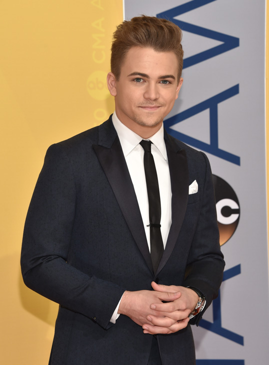 "<div class=""meta image-caption""><div class=""origin-logo origin-image none""><span>none</span></div><span class=""caption-text"">Hunter Hayes arrives at the 50th annual CMA Awards at the Bridgestone Arena on Wednesday, Nov. 2, 2016, in Nashville, Tenn. (Evan Agostini/Invision/AP)</span></div>"
