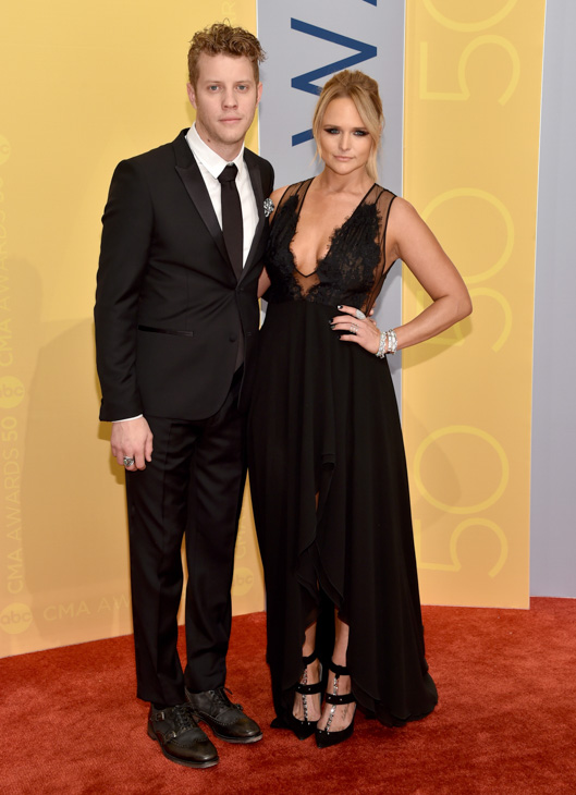 "<div class=""meta image-caption""><div class=""origin-logo origin-image none""><span>none</span></div><span class=""caption-text"">Anderson East, left, and Miranda Lambert arrive at the 50th annual CMA Awards at the Bridgestone Arena on Wednesday, Nov. 2, 2016, in Nashville, Tenn. (Evan Agostini/Invision/AP)</span></div>"