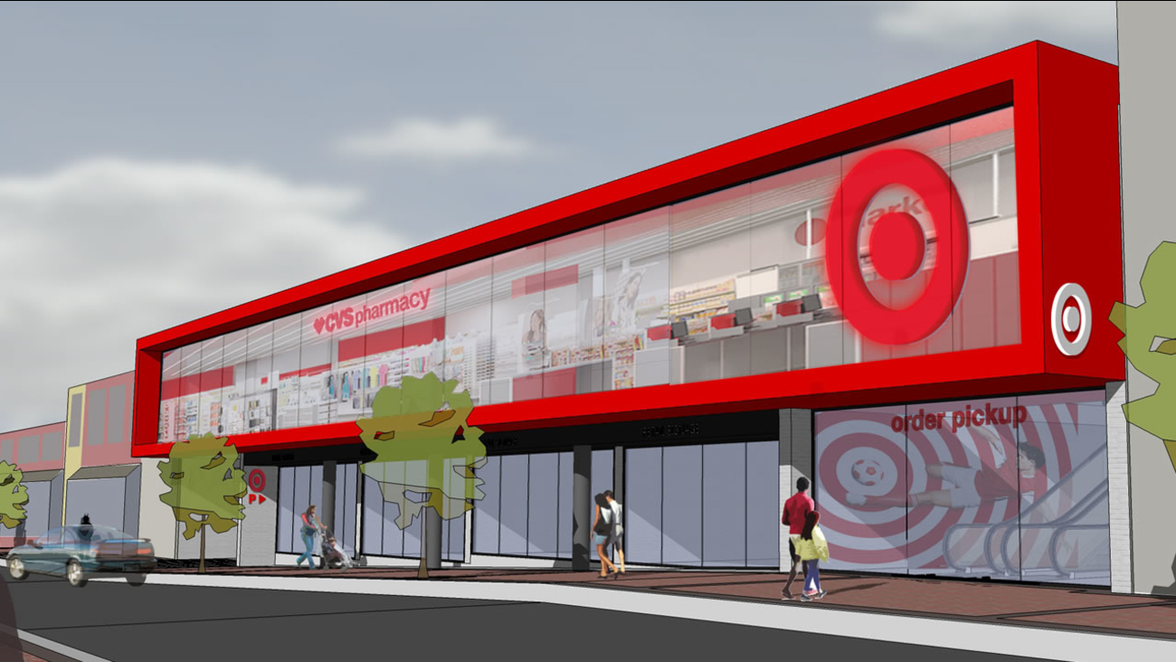 A rendering of what the store will look like courtesy Target.