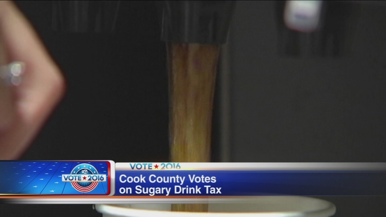 Cook County votes for sugary drink tax