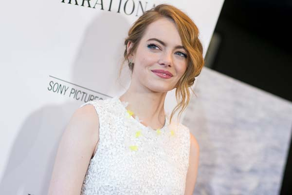 <div class='meta'><div class='origin-logo' data-origin='none'></div><span class='caption-text' data-credit='John Salangsang/Invision/AP'>Emma Stone arrives at the Premiere of &#34;Irrational Man&#34; held at the WGA Theatre on Thursday, July 9, 2015, in Beverly Hills, Calif. (Photo by John Salangsang/Invision/AP)</span></div>