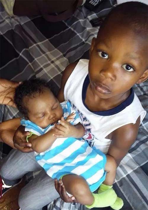 """<div class=""""meta image-caption""""><div class=""""origin-logo origin-image """"><span></span></div><span class=""""caption-text"""">Brothers 4-year-old Patrick Sanyeah and 1-month-old Taj Jacque both died when a 3-alarm fire tore through a rowhome in Southwest Philadelphia on Saturday, July 5, 2014.</span></div>"""
