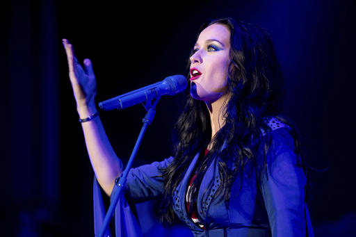 "<div class=""meta image-caption""><div class=""origin-logo origin-image ap""><span>AP</span></div><span class=""caption-text"">Musician Katy Perry performs during a Get Out the Vote concert at the Mann Center for the Performing Arts in Philadelphia, Saturday, Nov. 5, 2016. (AP)</span></div>"