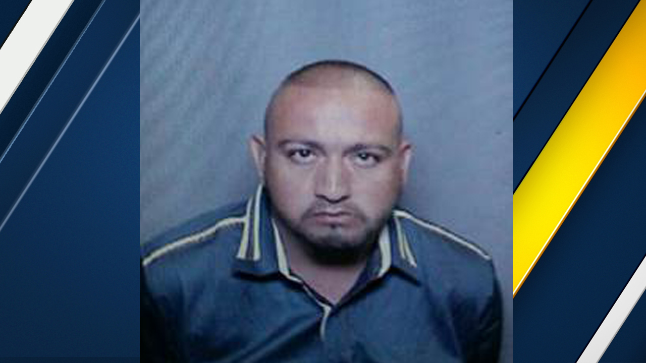 Javier Anguiano is seen in a photo released by authorities after he escaped police custody at a La Palma hospital on Sunday, Nov. 6, 2016.