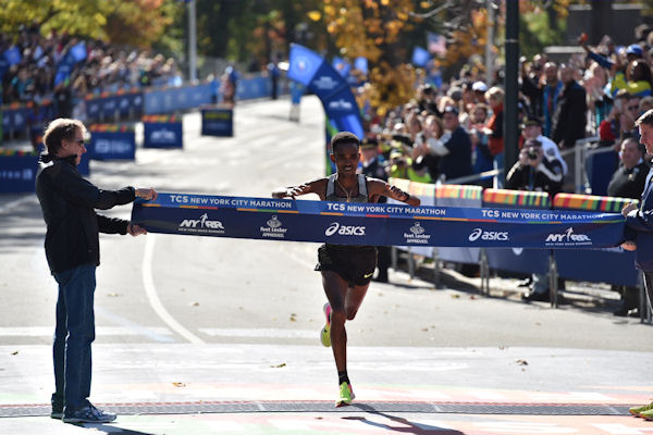 "<div class=""meta image-caption""><div class=""origin-logo origin-image none""><span>none</span></div><span class=""caption-text"">Eritrea's Ghirmay Ghebreslassie won the 2016 TCS New York City Marathon in the men's field with an unofficial time of 2 hours, 7 minutes and 51 seconds. (Mike Waterhouse)</span></div>"