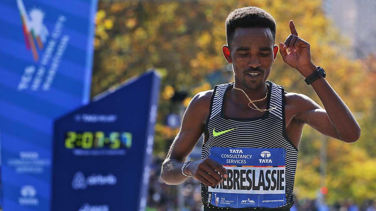 Ghirmay Ghebreslassie, of Eritrea