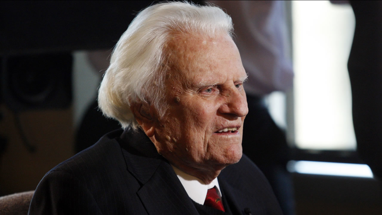 Rev. Billy Graham (AP Photo/Nell Redmond, File)