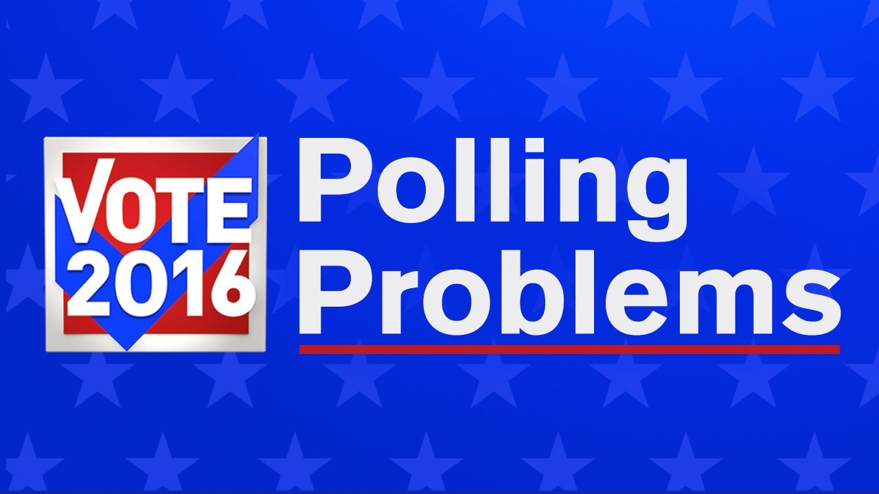 election day polling problems