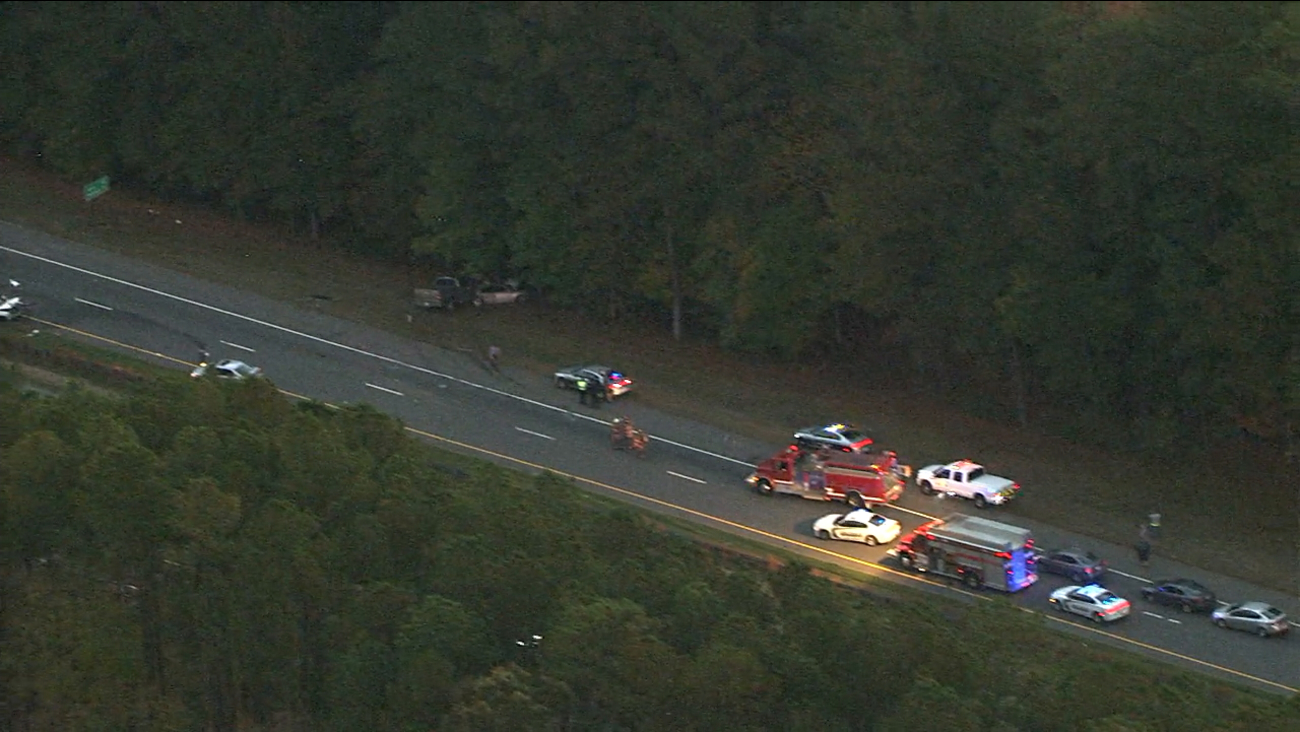 Accident involving multiple vehicles on US-1 North in Lee County