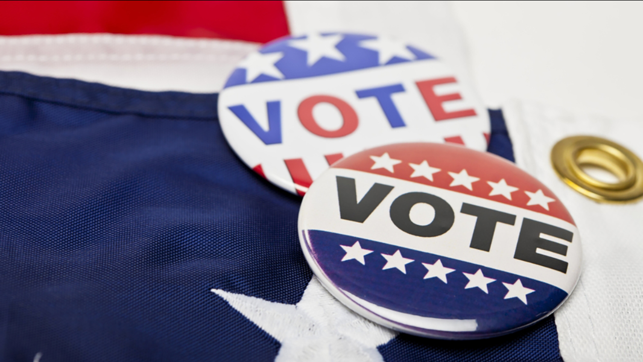 Stock photo of voting buttons