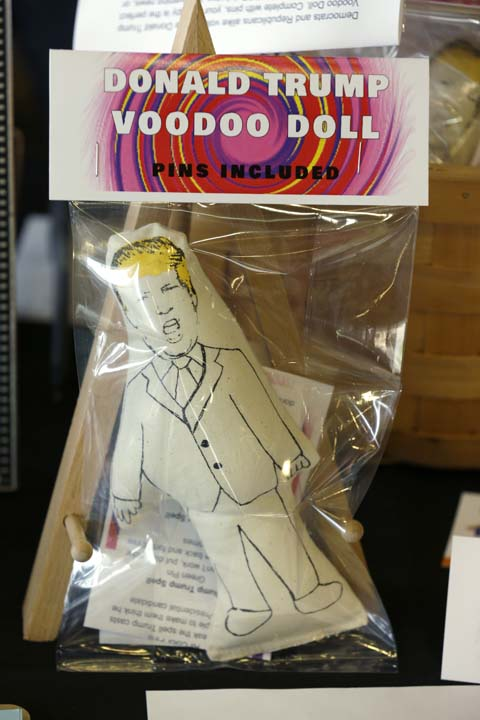 <div class='meta'><div class='origin-logo' data-origin='AP'></div><span class='caption-text' data-credit='AP Photo/Ted S. Warren'>Donald Trump voodoo dolls</span></div>