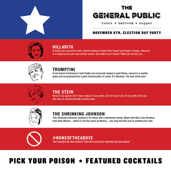 "<div class=""meta image-caption""><div class=""origin-logo origin-image ktrk""><span>KTRK</span></div><span class=""caption-text"">Take the edge off after a hectic election season with election-night themed cocktails. (The General Public)</span></div>"
