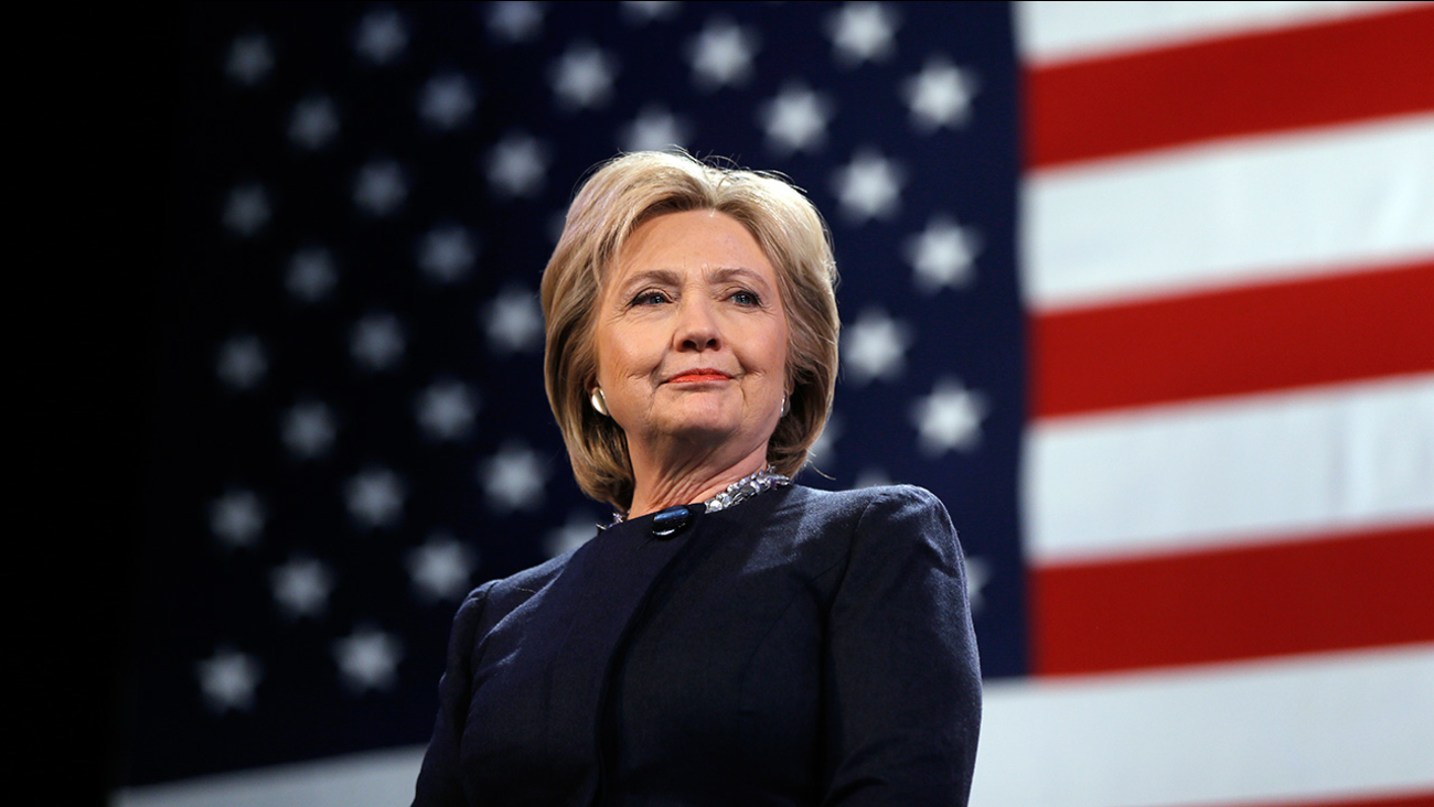 Democratic presidential candidate Hillary Clinton at a campaign stop in Rochester, N.H., on Friday, Jan. 22, 2016.