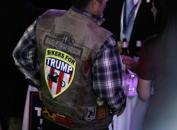 <div class='meta'><div class='origin-logo' data-origin='none'></div><span class='caption-text' data-credit='Julie Jacobson/AP Photo'>Supporters arrive at Republican presidential candidate Donald Trump's election night rally, Tuesday, Nov. 8, 2016, in New York.</span></div>