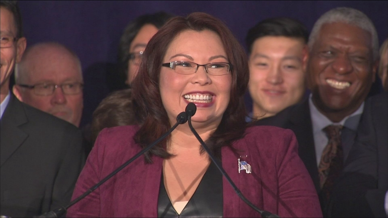 Tammy Duckworth victory speech