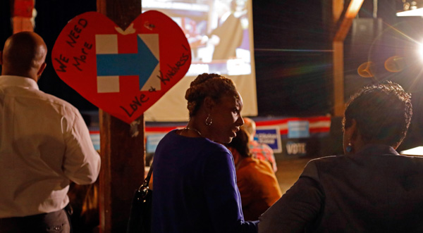"<div class=""meta image-caption""><div class=""origin-logo origin-image none""><span>none</span></div><span class=""caption-text"">Democratic presidential candidate Hillary Clinton supporters show their disbelief at the growing number of electoral votes Republican presidential candidate Donald Trump is getting (Rogelio V. Solis/AP Photo)</span></div>"
