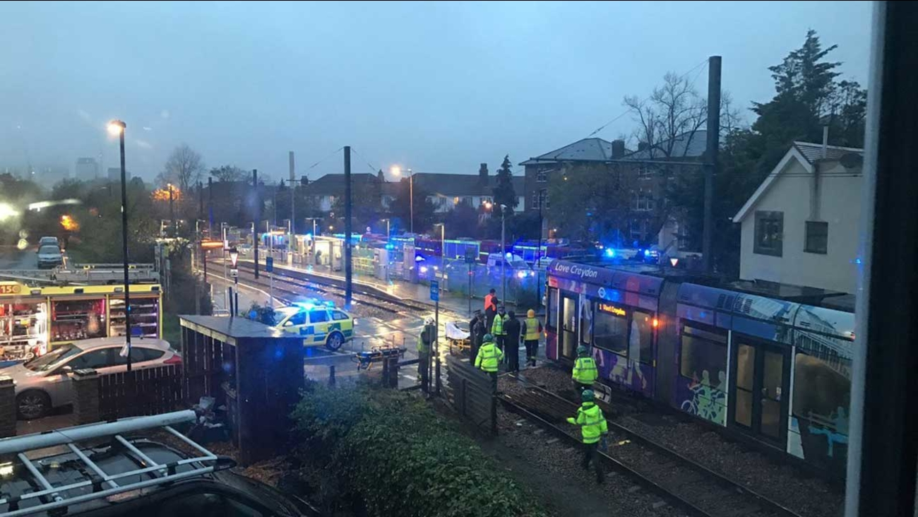 London tram crash