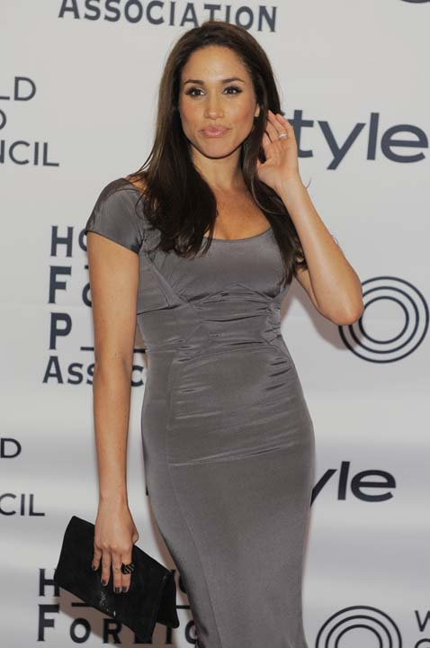"<div class=""meta image-caption""><div class=""origin-logo origin-image ap""><span>AP</span></div><span class=""caption-text"">Actress Meghan Markle pose together at the 13th Annual InStyle and Hollywood Foreign Press Association Toronto International Film Festival Party (Chris Pizzello/Invision/AP)</span></div>"