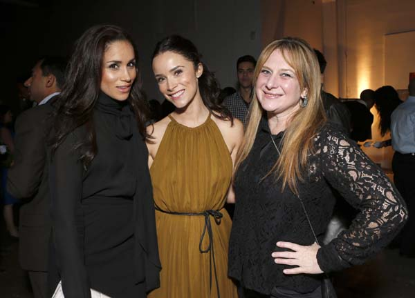 "<div class=""meta image-caption""><div class=""origin-logo origin-image ap""><span>AP</span></div><span class=""caption-text"">Meghan Markle, Abigail Spencer and Bonnie Zane attend the 3rd Annual Witness Uganda Concert (Todd Williamson/Invision/AP)</span></div>"