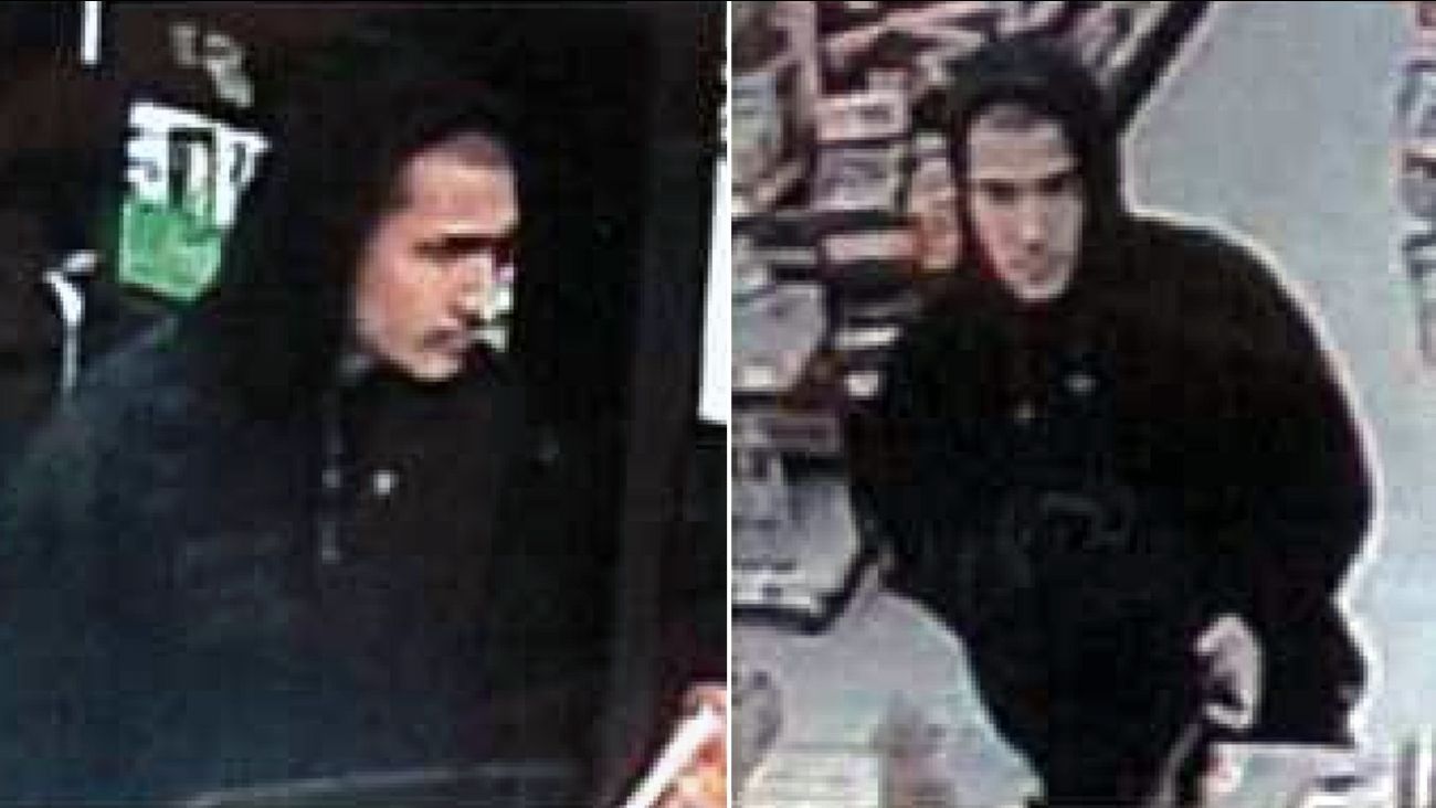 A man robbed two 7-Elevens within 10 minutes of each other in Duarte and Pasadena on Sunday, Nov. 6, 2016, according to the Los Angeles County Sheriff's Department.