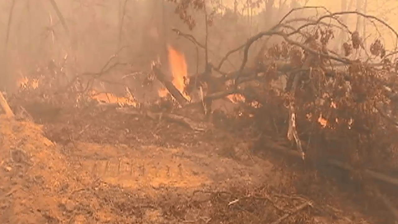 Evacuations ordered as North Carolina wildfires continue to