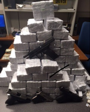 """<div class=""""meta image-caption""""><div class=""""origin-logo origin-image none""""><span>none</span></div><span class=""""caption-text"""">Pictures: Drugs and guns seized during the investigation.</span></div>"""