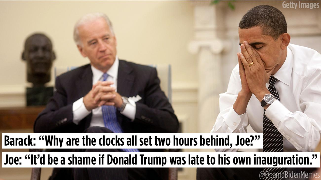 Hilarious memes imagine Joe Biden pranking incoming ...