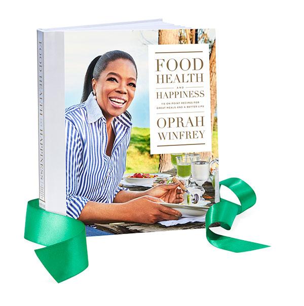 "<div class=""meta image-caption""><div class=""origin-logo origin-image none""><span>none</span></div><span class=""caption-text"">''Food Health and Happiness'' by Oprah, $35. Available at: FoodHealthandHappinessBook.com (Gregor Halenda/Oprah.com)</span></div>"