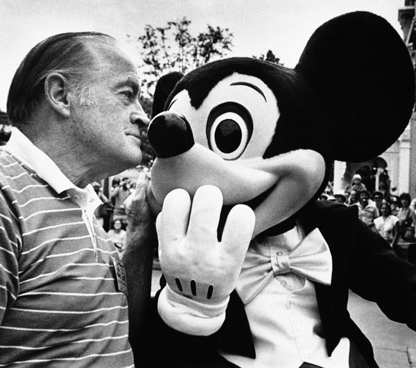 <div class='meta'><div class='origin-logo' data-origin='none'></div><span class='caption-text' data-credit='AP Photo/PW'>Bob Hope was Grand Marshal at the Tencennial Parade in Orlando, Florida on Oct. 3, 1981, the <br>climax of the opening week of festivities marking the park's first decade.</span></div>