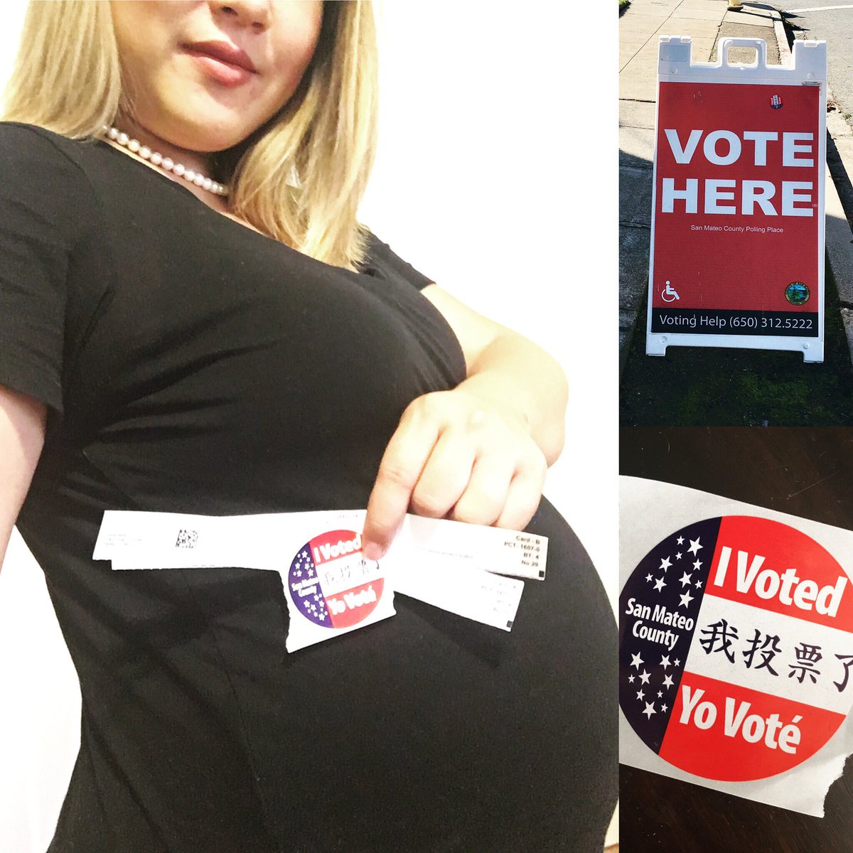 """<div class=""""meta image-caption""""><div class=""""origin-logo origin-image none""""><span>none</span></div><span class=""""caption-text"""">It's Election Day in the Bay Area, and ABC7 News viewers are sending in their photos using #abc7now. (KimmieSakamoto/Twitter)</span></div>"""