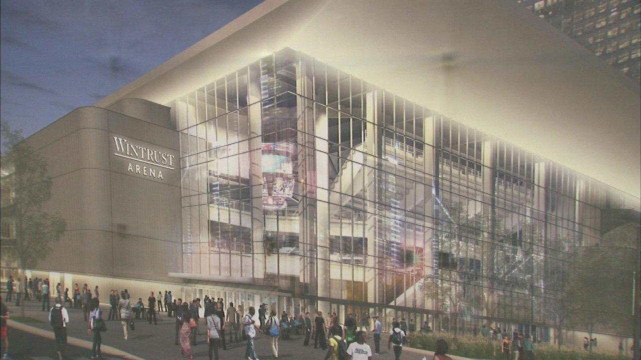 Exterior: New DePaul Basketball Facility Named Wintrust Arena