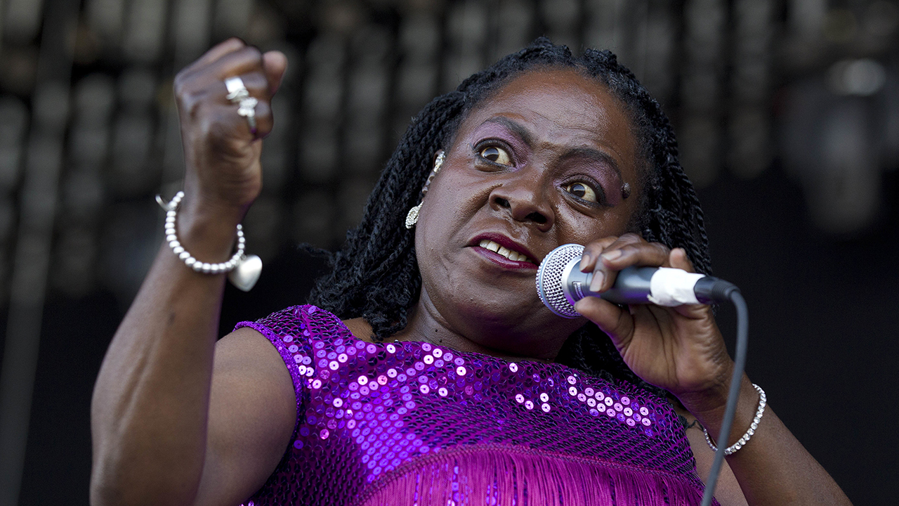 Sharon Jones and the Dap-Kings perform in 2012.