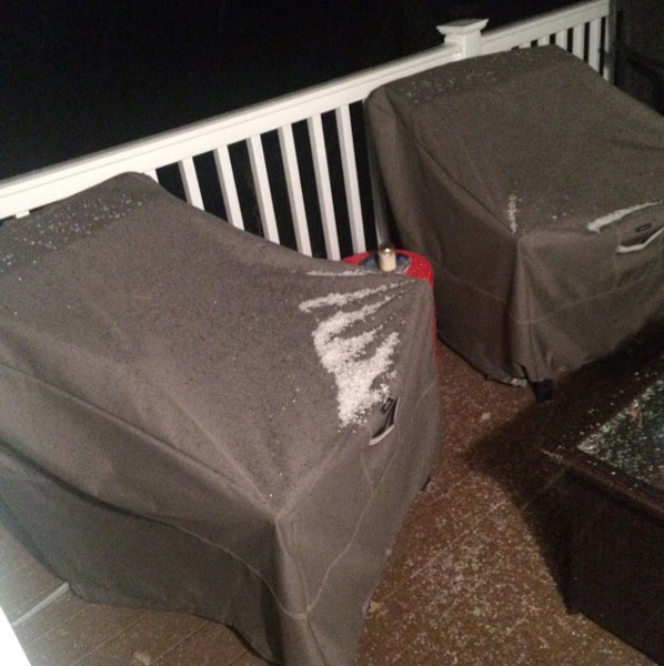 "<div class=""meta image-caption""><div class=""origin-logo origin-image wpvi""><span>WPVI</span></div><span class=""caption-text"">Parts of the Philadelphia region felt a wintry mix Saturday night. (Credit: AJ from Cape May County, NJ)</span></div>"