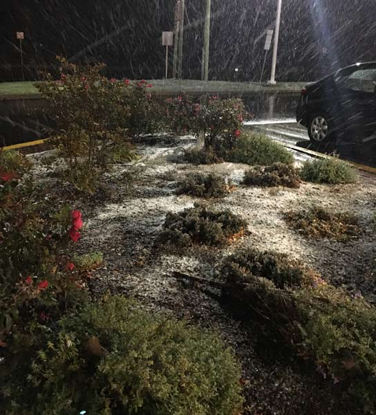 "<div class=""meta image-caption""><div class=""origin-logo origin-image wpvi""><span>WPVI</span></div><span class=""caption-text"">Parts of the Philadelphia region felt a wintry mix Saturday night. (Credit: Ann Kravitz from Montgomeryville, Pa.)</span></div>"