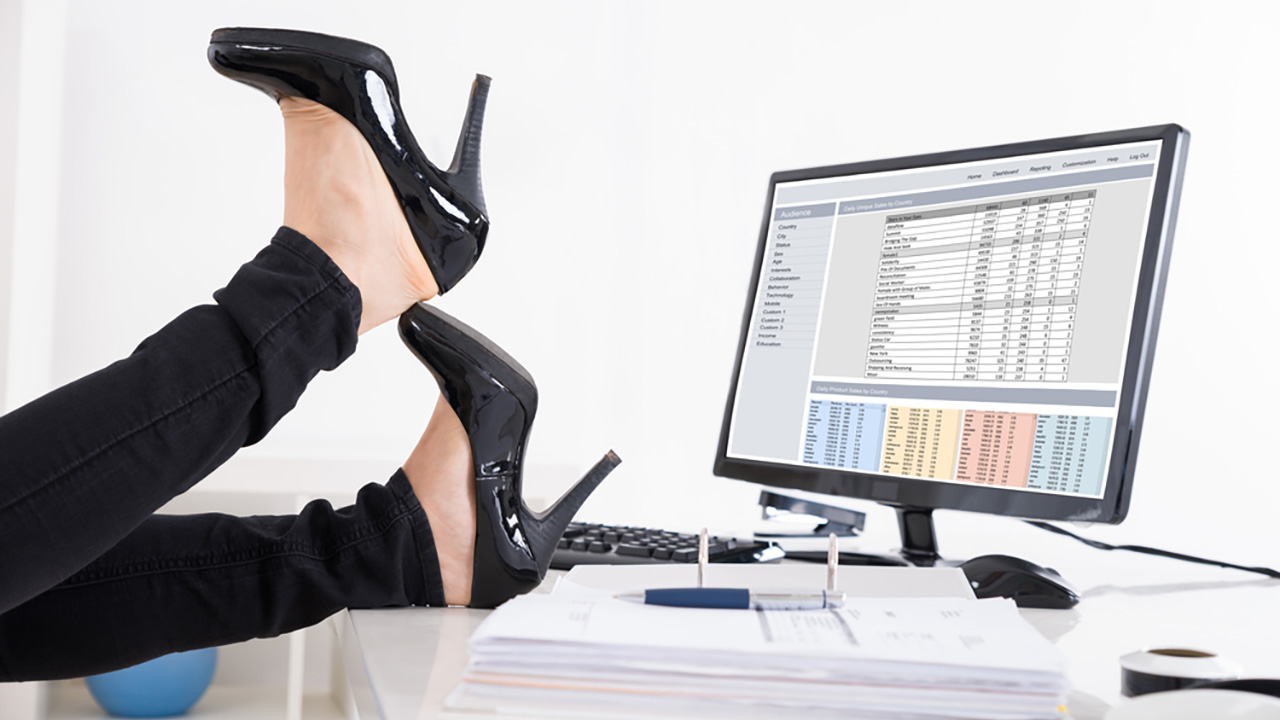 Stock photo of high heels