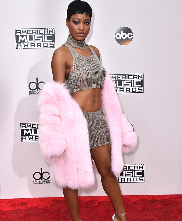 "<div class=""meta image-caption""><div class=""origin-logo origin-image none""><span>none</span></div><span class=""caption-text"">Keke Palmer arrives at the American Music Awards at the Microsoft Theater on Sunday, Nov. 20, 2016, in Los Angeles. (Jordan Strauss/Invision/AP)</span></div>"