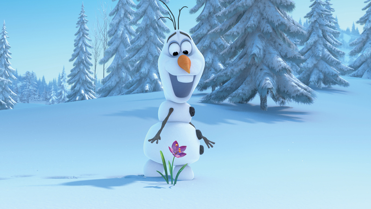 Image of Olaf from Frozen.