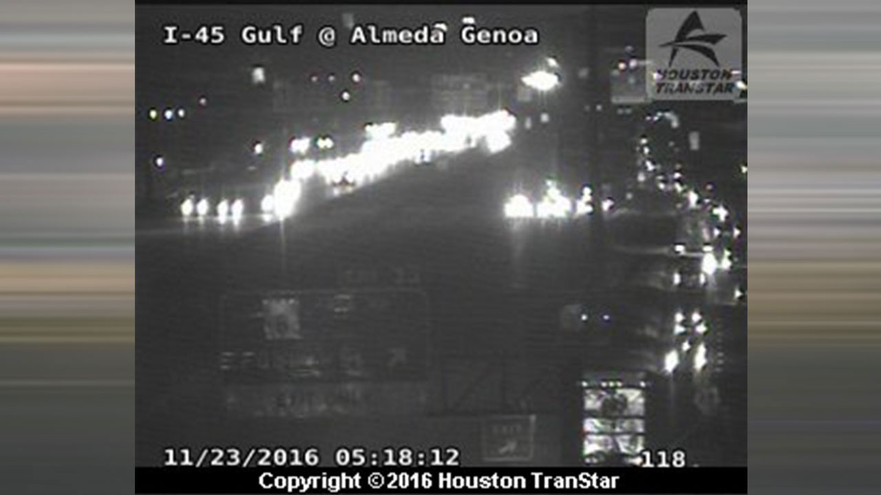 Gulf Freeway accident