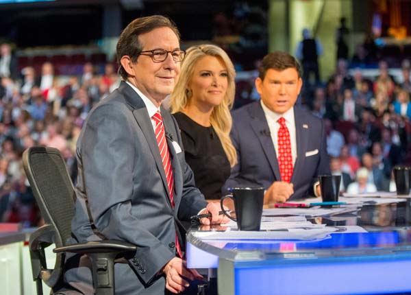 "<div class=""meta image-caption""><div class=""origin-logo origin-image ap""><span>AP</span></div><span class=""caption-text"">Fox News moderators from left, Chris Wallace, Megyn Kelly and Bret Baier appear for the first Republican presidential debate in Cleveland. (AP Photo/Andrew Harnik)</span></div>"