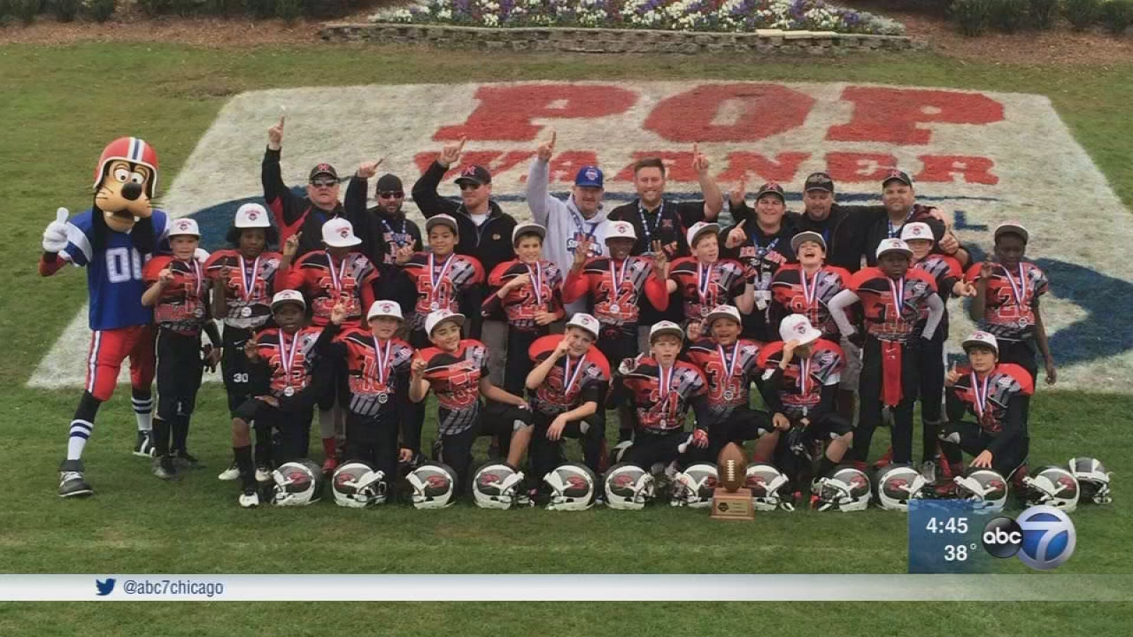 Hoffman Estates Redhawks hope to break Pop Warner record