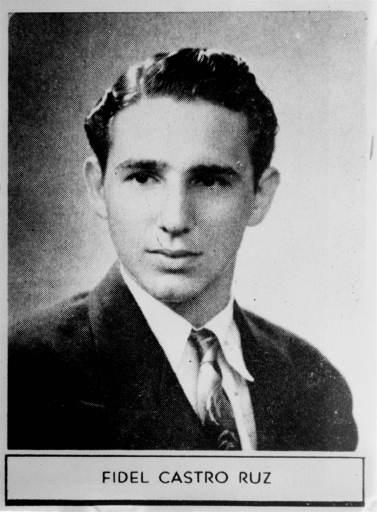 "<div class=""meta image-caption""><div class=""origin-logo origin-image none""><span>none</span></div><span class=""caption-text"">Fidel Castro in his 1945  high school yearbook (AP photo)</span></div>"