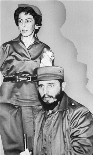 "<div class=""meta image-caption""><div class=""origin-logo origin-image none""><span>none</span></div><span class=""caption-text"">Cuban leader Fidel Castro is shown with his almost constant companion and private secretary Celia Sanchez,  shown 1960.  (AP Photo)</span></div>"