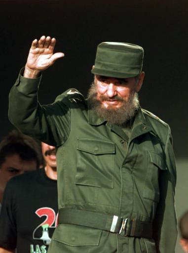 "<div class=""meta image-caption""><div class=""origin-logo origin-image none""><span>none</span></div><span class=""caption-text"">Cuban President Fidel Castro waves to the crowd as he arrives in Las Tunas, Cuba Saturday July 26, 1997.(AP Photo/Joe Cavaretta)</span></div>"